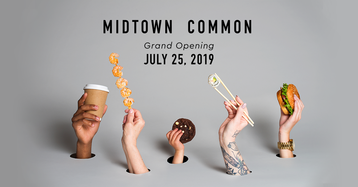 Midtown Common Grand Opening Logo